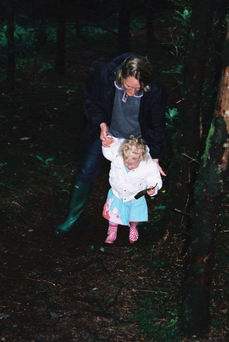 106 Susan & Tilly in the Dark Woods